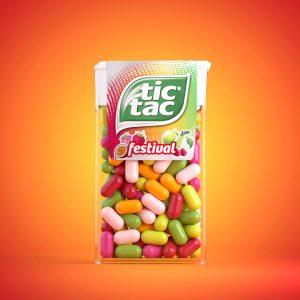 tictacs productfotografie kleurrijk