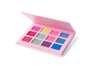 eyeshadow productfoto op wit